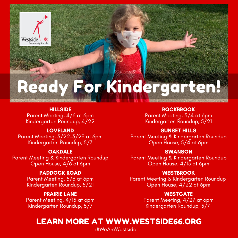 February 26, 2021 | Kindergarten Parent Meetings & Round-Up Dates