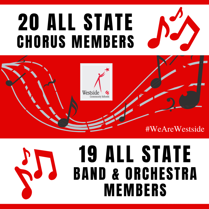39 Westside Students Selected For All State Chorus, Band and Orchestra