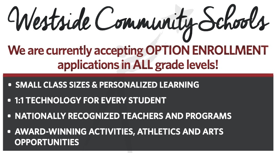February 10, 2021 | Be A Warrior! Now Accepting Option Enrollment Applications For All Students